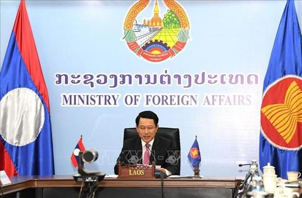 Le ministre laotien des Affaires etrangeres participe a l'AMM-53 et aux reunions connexes hinh anh 1