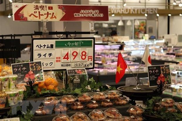 Des produits vietnamiens presentes dans les supermarches AEON au Japon hinh anh 1