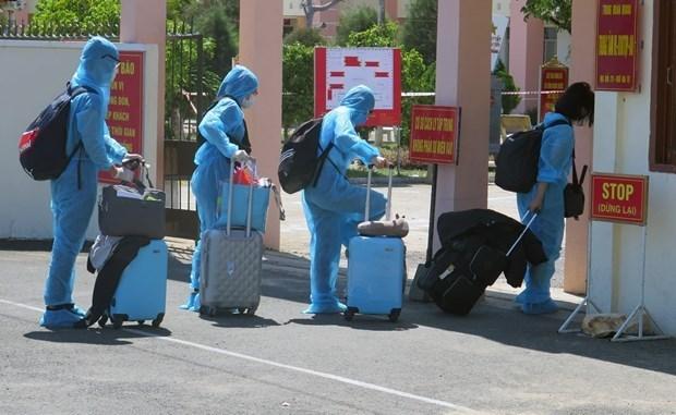 COVID-19 : aucun nouveau cas de contamination locale au Vietnam depuis 20 jours hinh anh 1