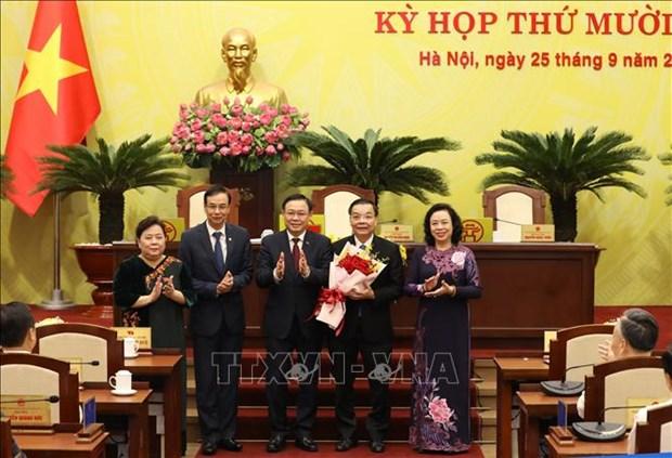 Hanoi a un nouveau president hinh anh 1