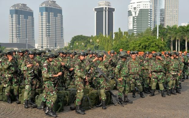 Le president indonesien s'engage a moderniser l'armee hinh anh 1