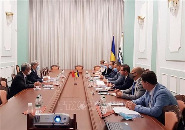 Stimuler la cooperation militaire Vietnam – Ukraine hinh anh 1