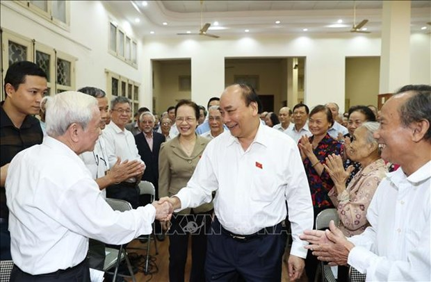Le PM Nguyen Xuan Phuc affirme les realisations nationales hinh anh 1