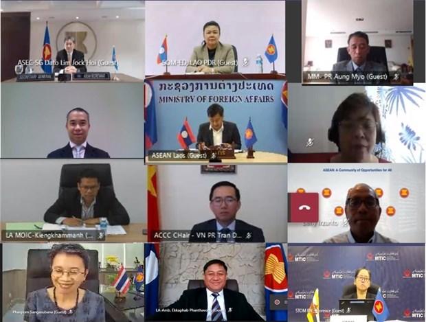 L'ASEAN discute de l'amelioration de l'efficacite de la chaine d'approvisionnement regionale hinh anh 1