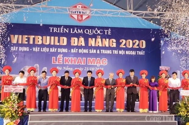 L'exposition Vietbuild 2020 debute a Da Nang hinh anh 1
