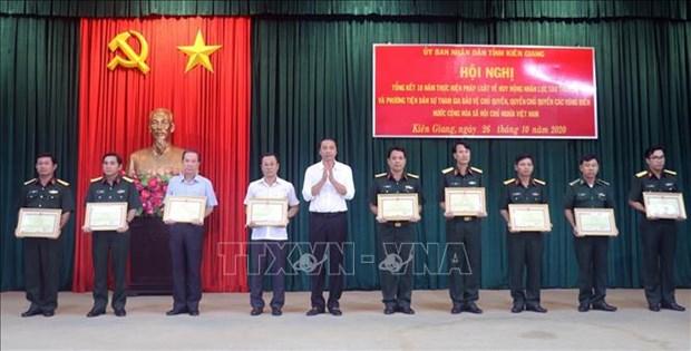 Kien Giang renforce la sensibilisation sur la protection de la souverainete maritime et insulaire hinh anh 1