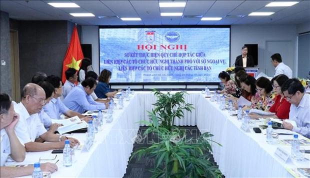 Les localites du Sud renforcent leur coordination dans la diplomatie populaire hinh anh 1