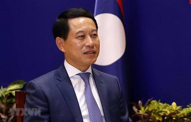 ASEAN 2020: le Laos apprecie les contributions du Vietnam a la promotion du role de l'ASEAN hinh anh 1