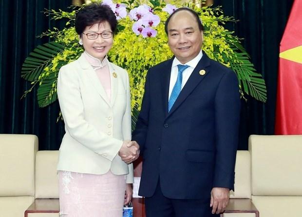 L'economie et le commerce, point brillant de la cooperation avec Hong Kong (Chine) hinh anh 1
