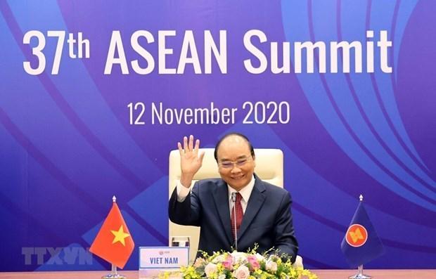 Declaration de presidence du 37e Sommet de l'ASEAN:
