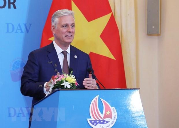 Les Etats-Unis souhaitent promouvoir le partenariat integral avec le Vietnam hinh anh 1
