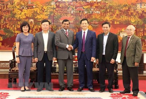 Le Sri Lanka se renseigne sur les potentialites d'investissement a Bac Ninh hinh anh 1