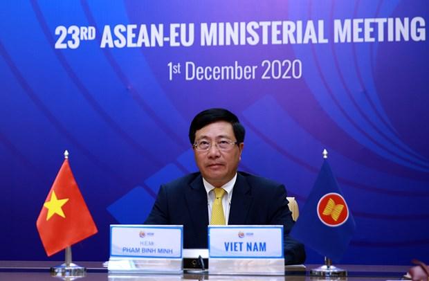 ASEAN 2020 : la 23eme reunion ministerielle entre l'UE et l'ASEAN hinh anh 1