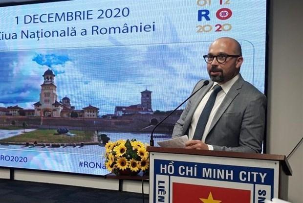 La Fete nationale de la Roumanie celebree a Ho Chi Minh-Ville hinh anh 1