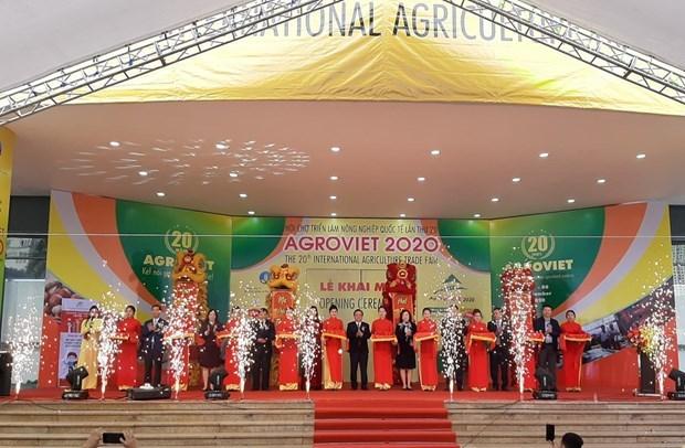 La 20e Foire internationale de l'agriculture celebre les richesses du territoire hinh anh 1