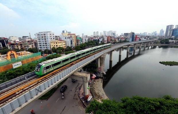 La ligne ferroviaire Cat Linh-Ha Dong sera mise en service le 12 decembre hinh anh 1