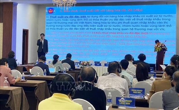 Sensibilisation de la loi aux entreprises japonaises a Da Nang hinh anh 1