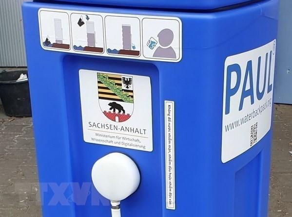 Le land allemand de Saxe-Anhalt offre des systemes de filtration d'eau portable au Centre du Vietnam hinh anh 1