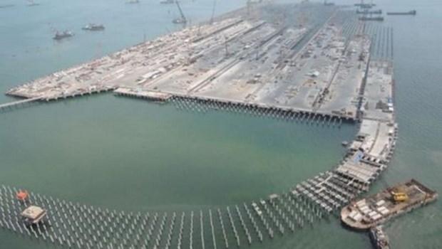 Le president indonesien inaugure un port ''strategique'' de 3 milliards de dollars hinh anh 1