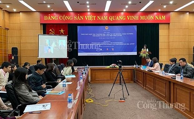 Le Vietnam promeut la cooperation commerciale avec des pays d'Amerique latine grace au CPTPP hinh anh 1
