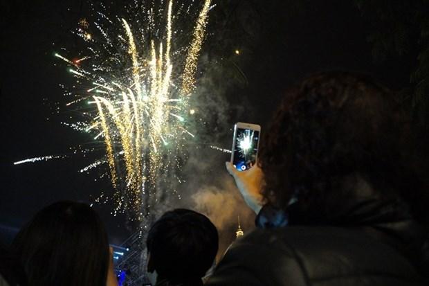 Une serie d'activites pour saluer le Nouvel An 2021 a Hanoi hinh anh 1