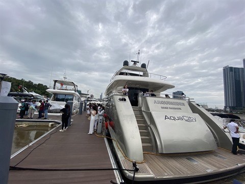Exposition de yachts 2021 a Ho Chi Minh-Ville hinh anh 1