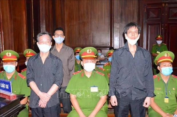 Trois hommes poursuivis pour propagande contre l'Etat hinh anh 1