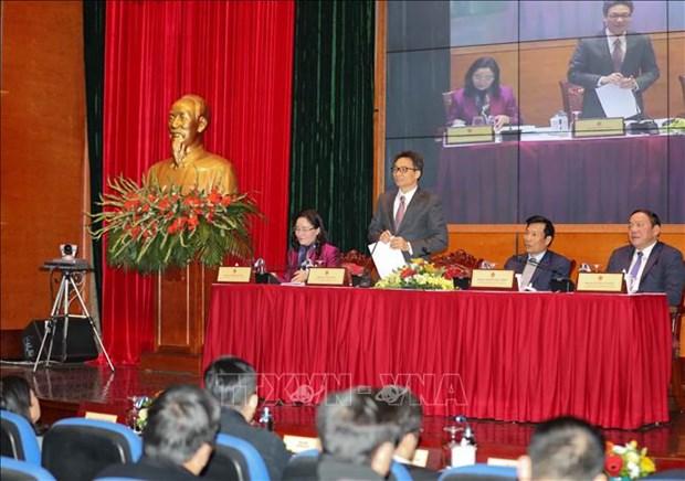 Le vice-PM Vu Duc Dam apprecie les realisations culturelles, sportives et touristiques hinh anh 2