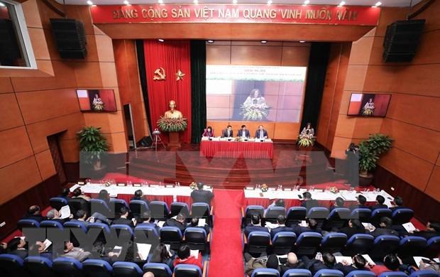 Le vice-PM Vu Duc Dam apprecie les realisations culturelles, sportives et touristiques hinh anh 1