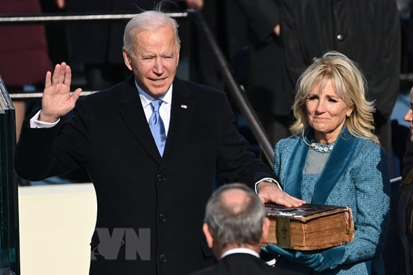 Messages de felicitations au president americain Joe Biden hinh anh 1