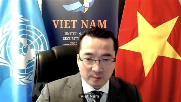 Le Vietnam appelle la communaute internationale a s'unir pour aider la Syrie hinh anh 1