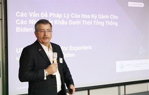 Vietnam - Etats-Unis: Identifier les dangers et reagir aux recours commerciaux hinh anh 2