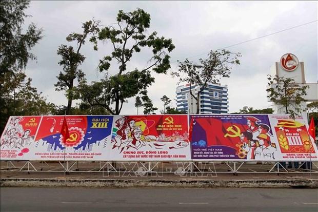 Les citoyens de l'ensemble du pays s'orientent vers le 13e Congres national du Parti hinh anh 2