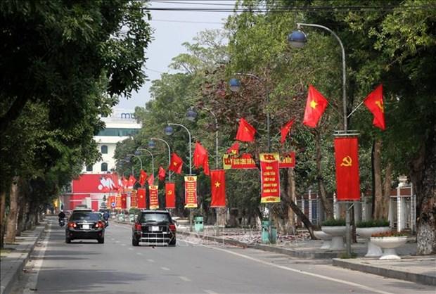 Les citoyens de l'ensemble du pays s'orientent vers le 13e Congres national du Parti hinh anh 1