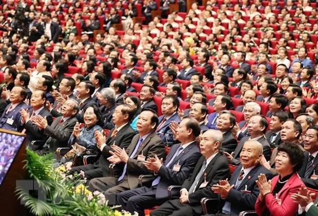 La ceremonie d'ouverture du 13e Congres national du Parti couverte par des medias etrangers hinh anh 2