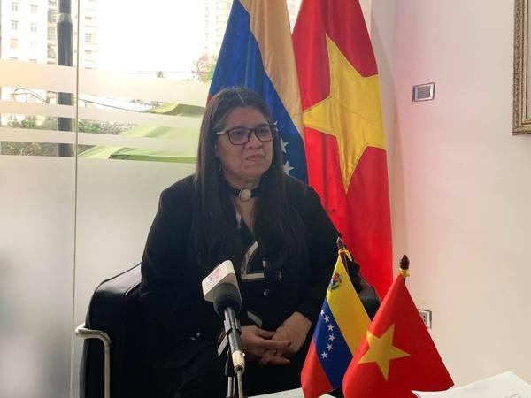 Le 13e Congres national du Parti sera la cle de l'avenir, selon l'ambassadrice venezuelienne hinh anh 1