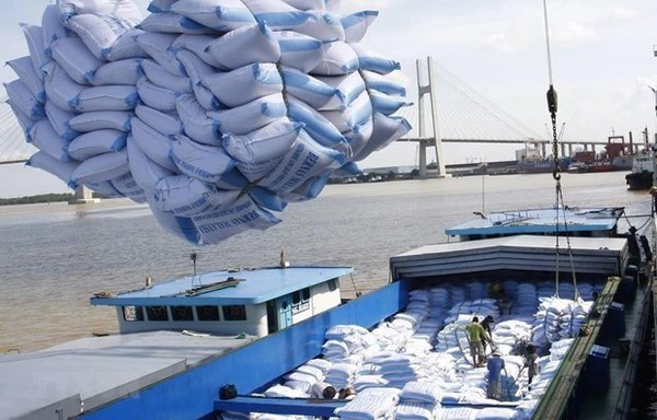 De premieres tonnes de riz vietnamien importees au Royaume-Uni dans le cadre de l'UKVFTA hinh anh 1