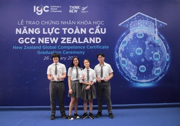 La Nouvelle-Zelande decerne le certificat de competences mondiales a 25 Vietnamiens hinh anh 1