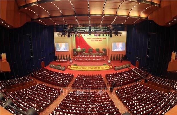 Les Vietnamiens en Australie impressionnes par le succes du 13e Congres national du Parti hinh anh 1