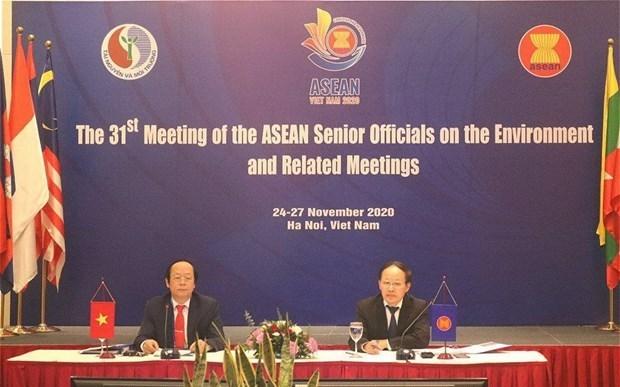 ASEAN: Le Vietnam contribue activement aux efforts regionaux sur l'environnement hinh anh 2