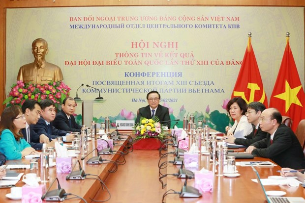 Presentation des resultats du 13e Congres national du PCV aux autorites de Saint-Petersbourg hinh anh 1