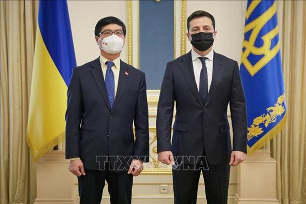 Le Vietnam et l'Ukraine veulent dynamiser leurs relations hinh anh 1