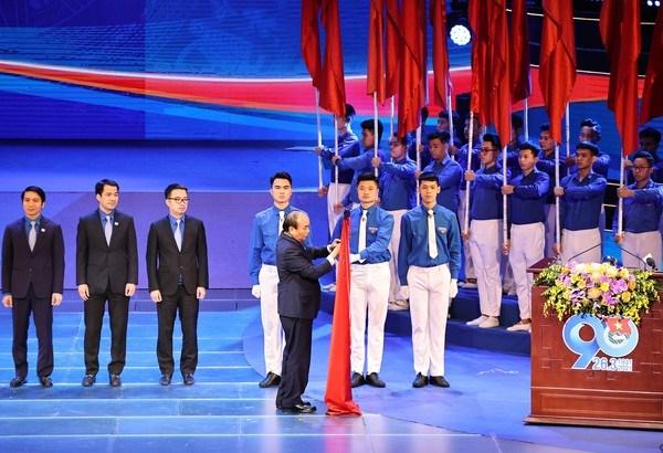 L'Union de la jeunesse communiste Ho Chi Minh souffle ses 90 bougies hinh anh 2