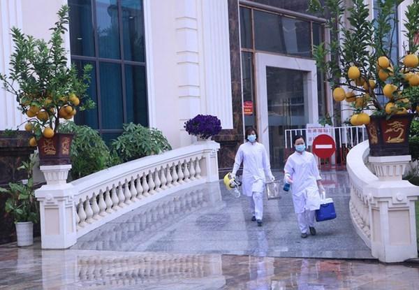Ho Chi Minh-Ville : confinement de deux sites lies au nouveau cas de COVID-19 hinh anh 1