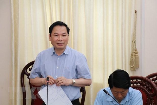 Ninh Binh travaille pour assurer la securite de l'ouverture de l'Annee nationale du tourisme 2021 hinh anh 1
