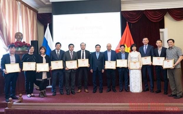 COVID-19 : la communaute vietnamienne en Russie s'unit pour surmonter les difficultes hinh anh 1
