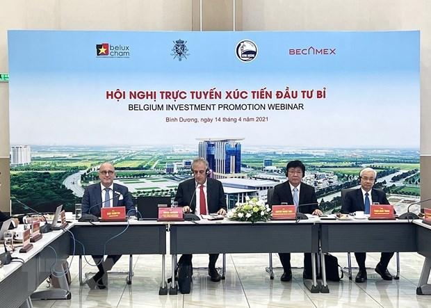 Binh Duong cherche a attirer des investisseurs belges hinh anh 1