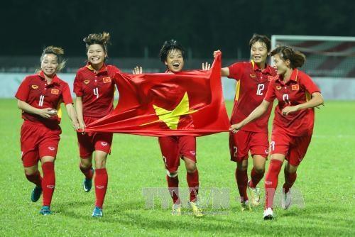 Football feminin: le Vietnam progresse au 33e rang mondial hinh anh 1