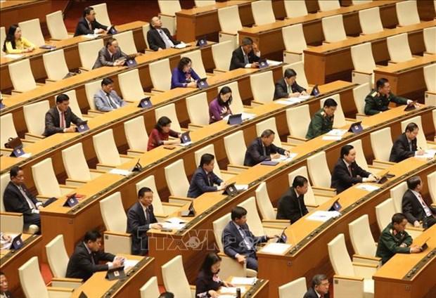 Elections legislatives: le president de l'AN rencontre des electeurs de Hai Phong hinh anh 2