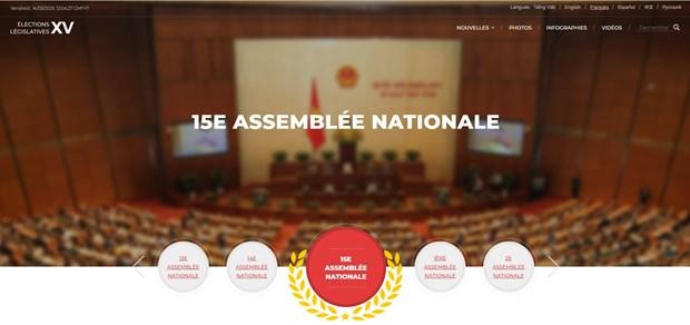 La VNA inaugure une page web speciale sur les elections legislatives hinh anh 1